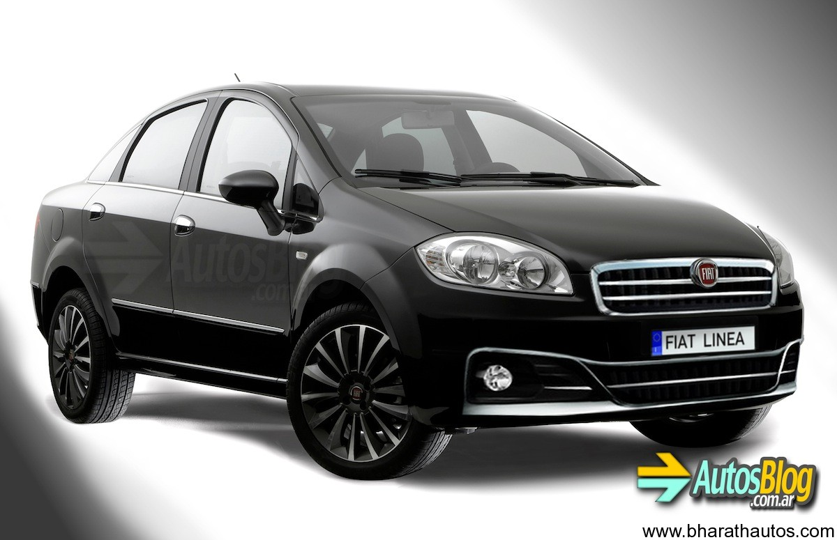 more images emerge of new 2013 fiat linea facelift. Black Bedroom Furniture Sets. Home Design Ideas