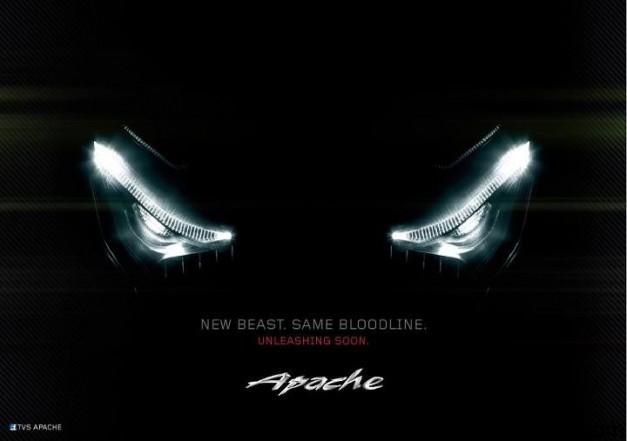 2012 New TVS Apache series