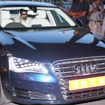Abhishek Bachchan snapped in his New Audi A8 Limousine