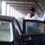 Abhishek Bachchan snapped in his New Audi A8 Limousine - 003