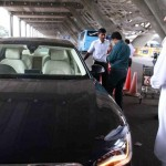 Abhishek Bachchan snapped in his New Audi A8 Limousine - 004