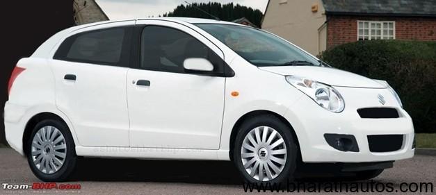 2013 Maruti Suzuki A-Star sedan rendered image