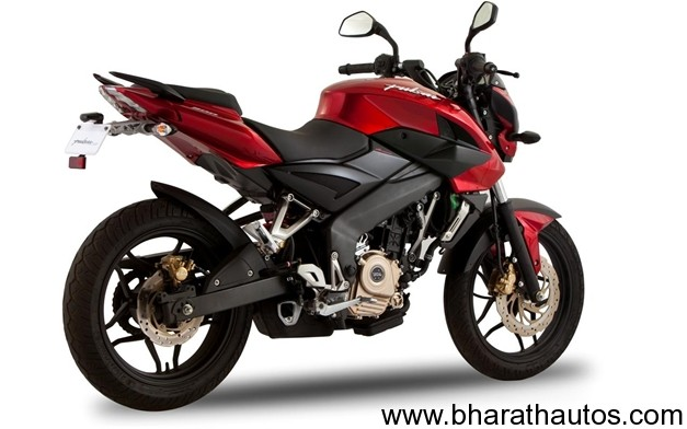 Bajaj Pulsar 200 NS - RearView