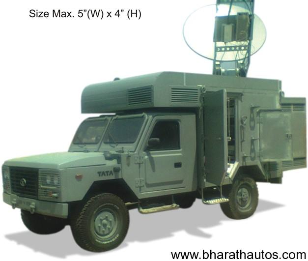 Tata Light armoured vehicle