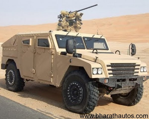 Renault showcased Sherpa Light Military Truck at Def Expo 2012