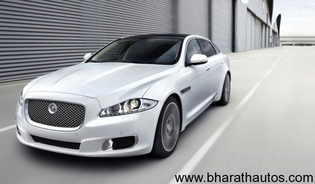 Jaguar XJ Ultimate - FrontView