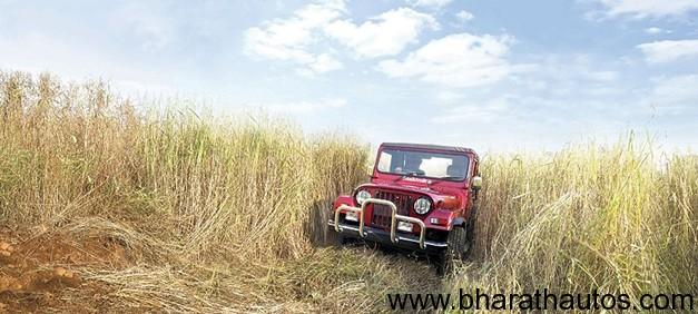 New Mahindra Thar CRDe 4x4