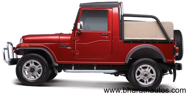 New Mahindra Thar CRDe 4x4 - SideView
