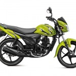 Suzuki Hayate 110cc commuter motorcycle - Metallic lush green
