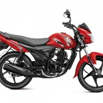 Suzuki Hayate 110cc commuter motorcycle - Pearl mica red