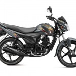 Suzuki Hayate 110cc commuter motorcycle - Metallic flint grey