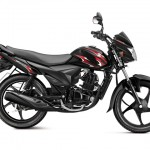 Suzuki Hayate 110cc commuter motorcycle - GL sparkle black