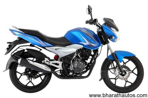 New Bajaj Discover 125 ST (Sports Tourer) - SideView