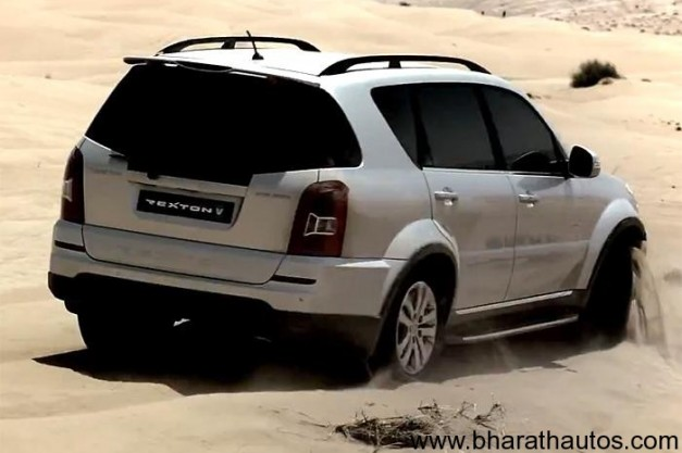 New Ssangyong Rexton W SUV - RearView