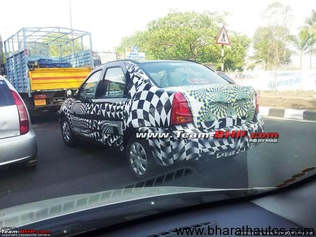 Mahindra Verito facelift - RearView