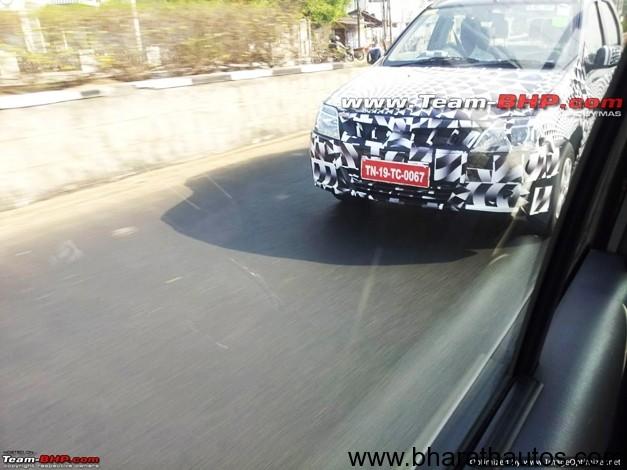 Mahindra Verito facelift - FrontView
