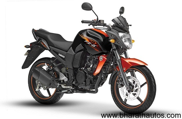 2012 Yamaha FZ-S - Fiery Orange