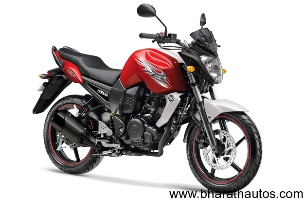 2012 Yamaha FZ-S - Sunset Red
