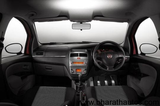 Fiat Punto Sport 90hp limited edition - InteriorView
