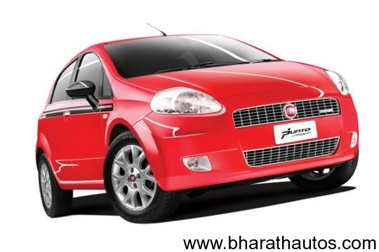 Fiat Punto Sport 90hp limited edition - FrontView