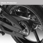 2012 Yamaha FZ series - Chain guard/protector