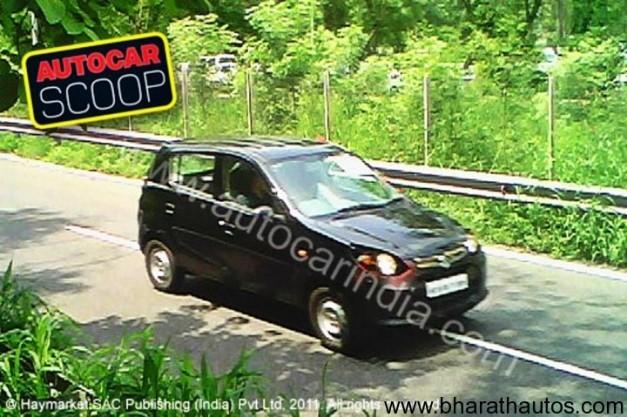 New Maruti 800cc car - Spotted