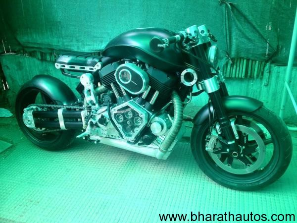 MS Dhoni's X132 Hellcat motorcycle