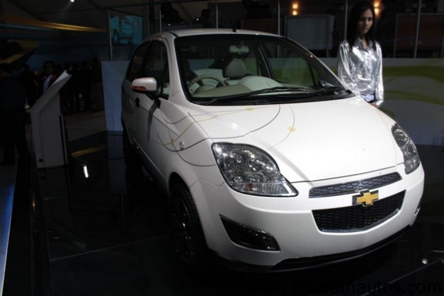 Chevrolet Spark Electric - FrontView