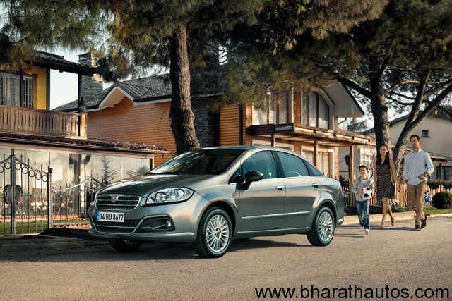 New 2013 Fiat Linea facelift - 001