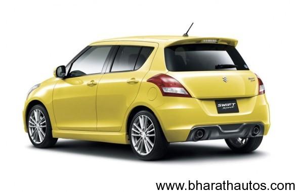 2012-Suzuki-Swift-Sport-5-door-RearView