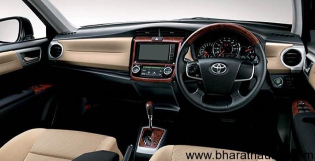 Toyota Corolla Axio - DashboardView