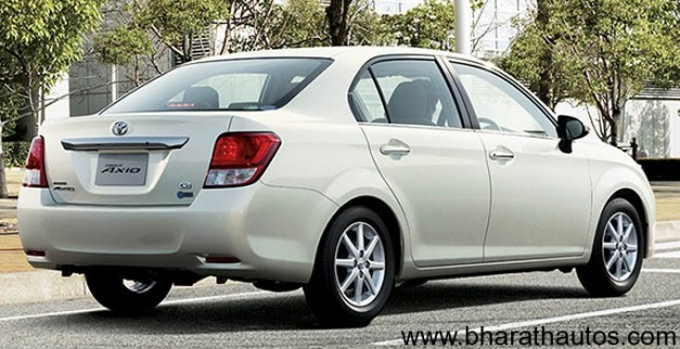 Toyota Corolla Axio - RearView