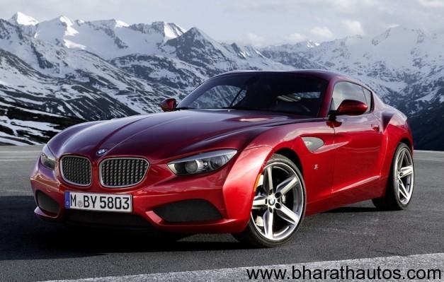 BMW Z4 Zagato Coupe - FrontView
