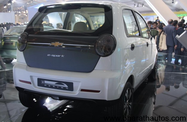 Chevrolet Spark Electric - RearView