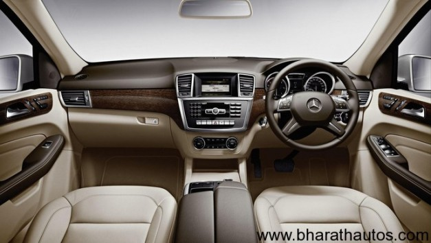 2012 Mercedes M-Class ML 63AMG - InteriorView