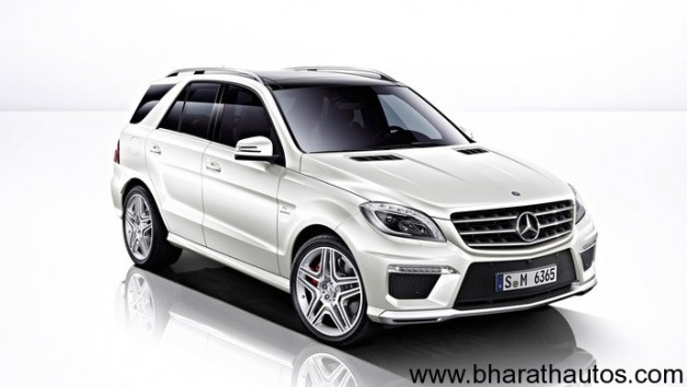 2012 Mercedes M-Class ML 63AMG - FrontView