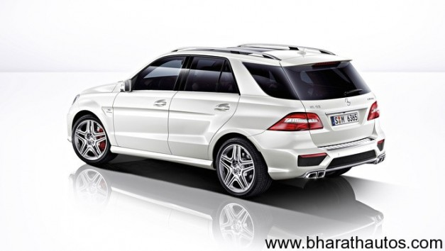 2012 Mercedes M-Class ML 63AMG - RearView