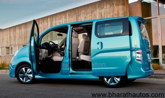 Nissan e-NV200 electric-van
