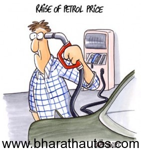 A Real Life Ghost is back - Petrol price hiked
