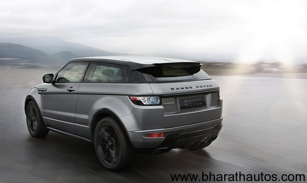Range Rover Evoque Victoria Beckham edition - RearView