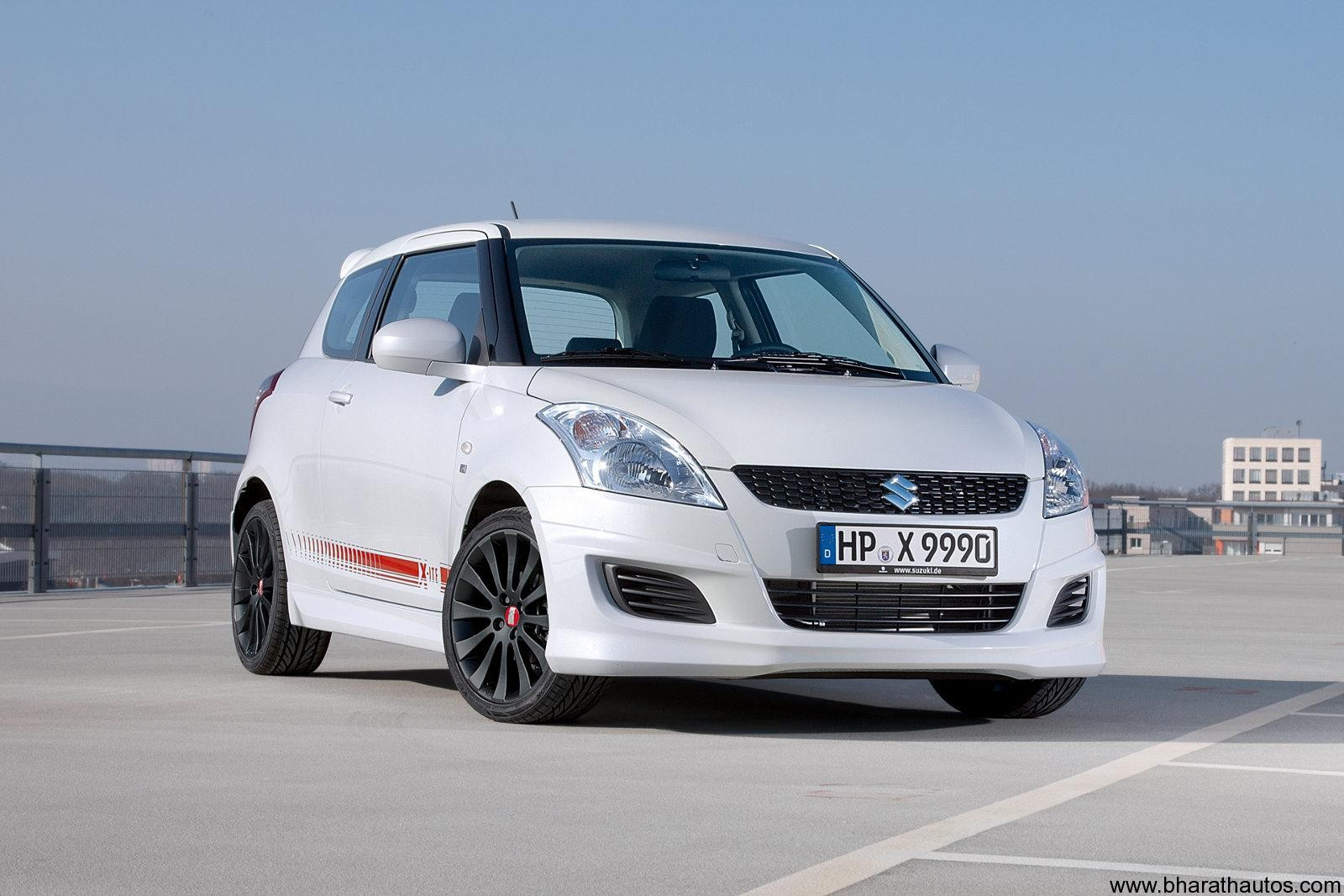 Suzuki Swift X Ite Special Edition Unveiled In Germany