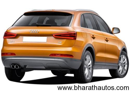 Audi Q3 - RearView