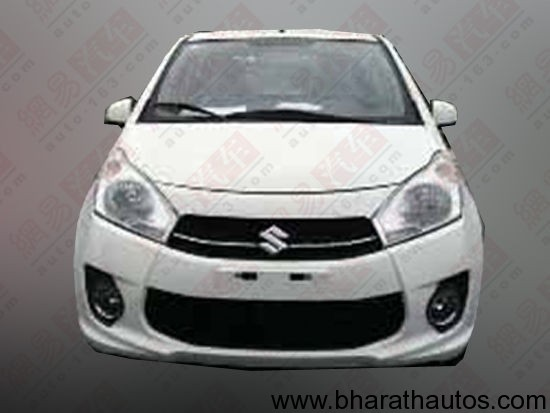 New Maruti A-Star facelift - FrontView