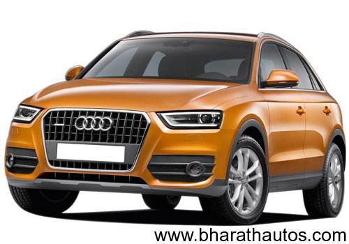 Audi Q3 - FrontView