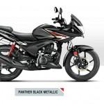 Hero Ignitor 125 - Panthar Black Mettalic
