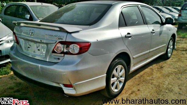 Spied Toyota Corolla Altis Aero Limited Edition At