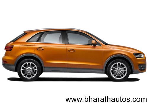 Audi Q3 - SideView