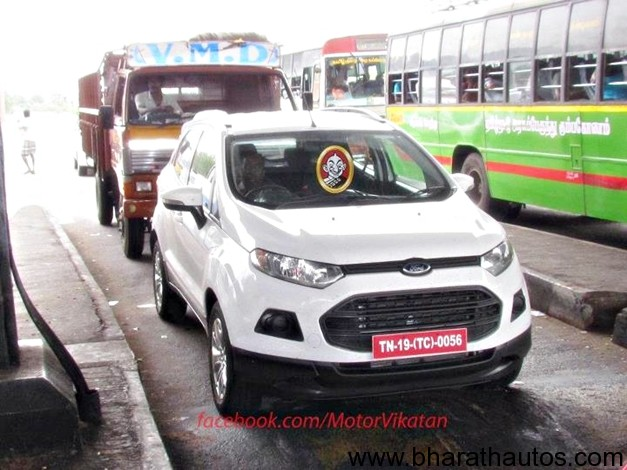 Ford EcoSport - FrontView