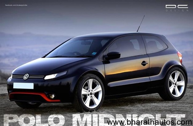 Volkswagen Polo modified by DC Design - FrontView