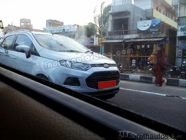 Ford EcoSport Titanium TDCI - FrontView